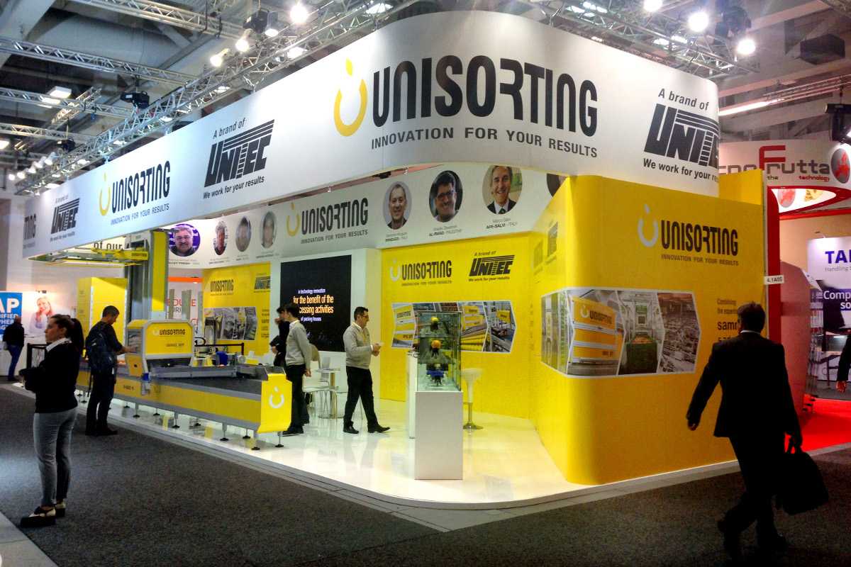Fruit Logistica 2017 - Unisorting Oranges>Sort
